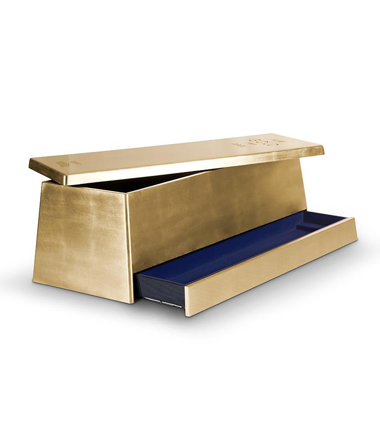 Gold Box Toy Box by Circu