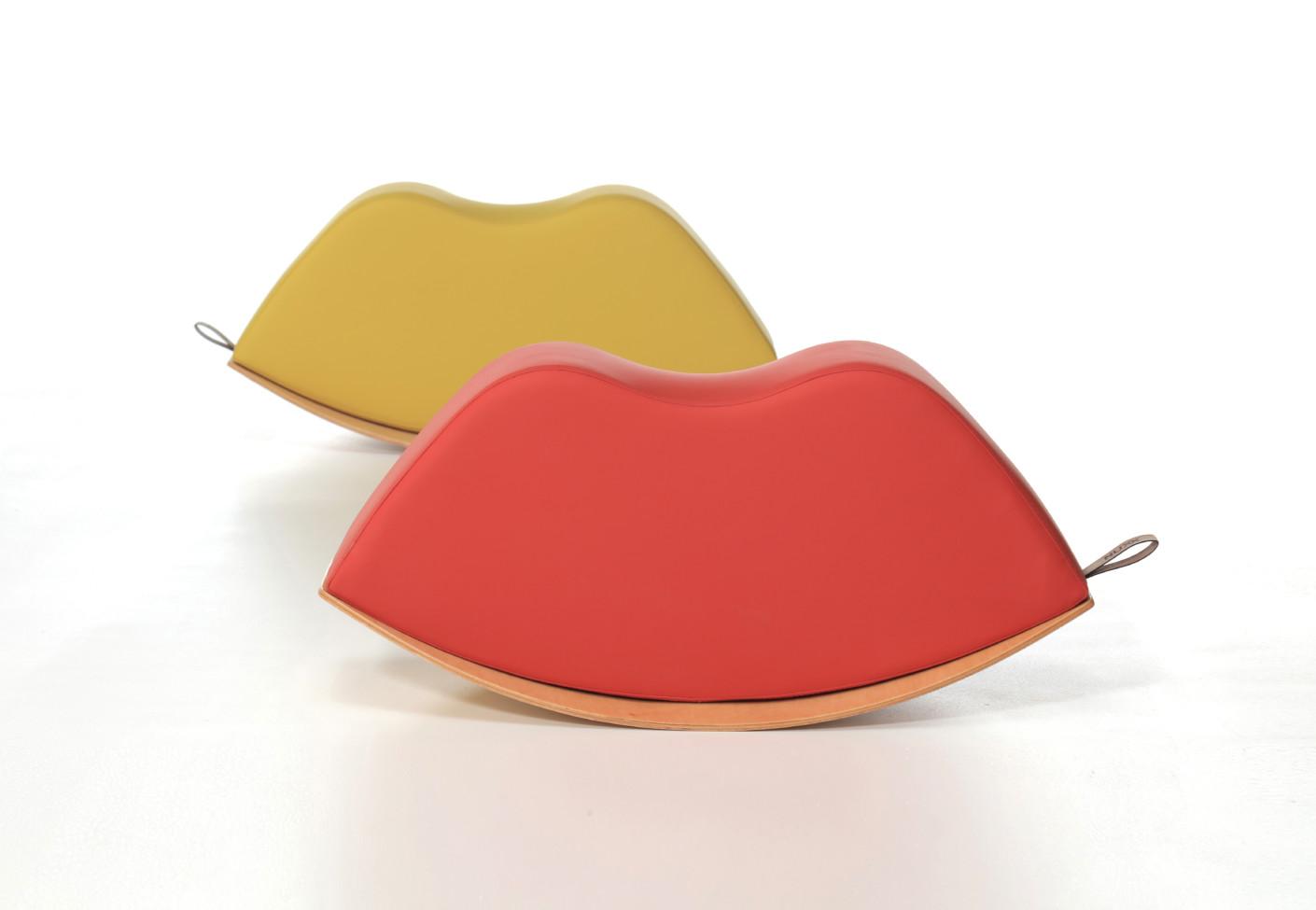 Lips Rocking Poufs by Nurus