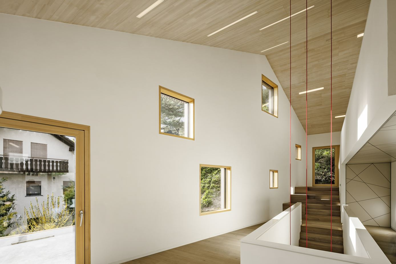 Cloud Cuckoo House in Münstertal, Black Forest, Germany by UberRaum Architects