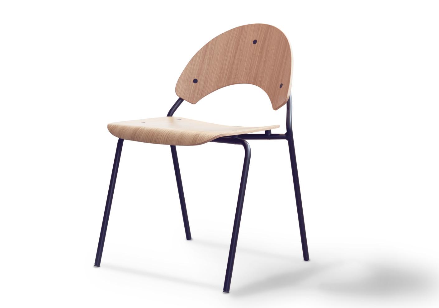 timeless design frog chair by herbert hirche for lampert. Black Bedroom Furniture Sets. Home Design Ideas