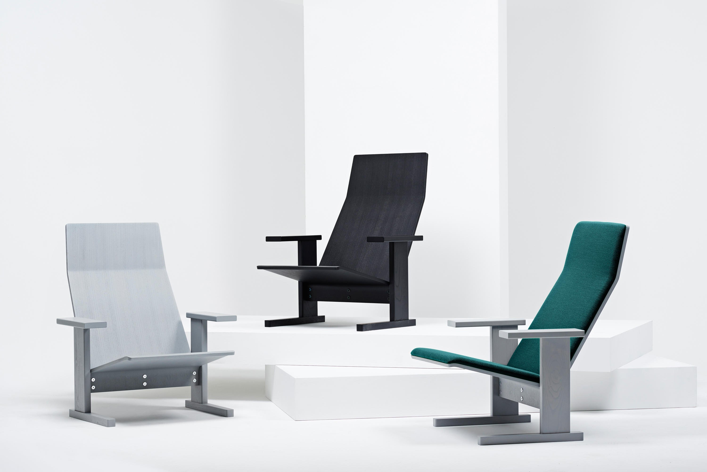 Quindici Lounge Chairs by Mattiazzi