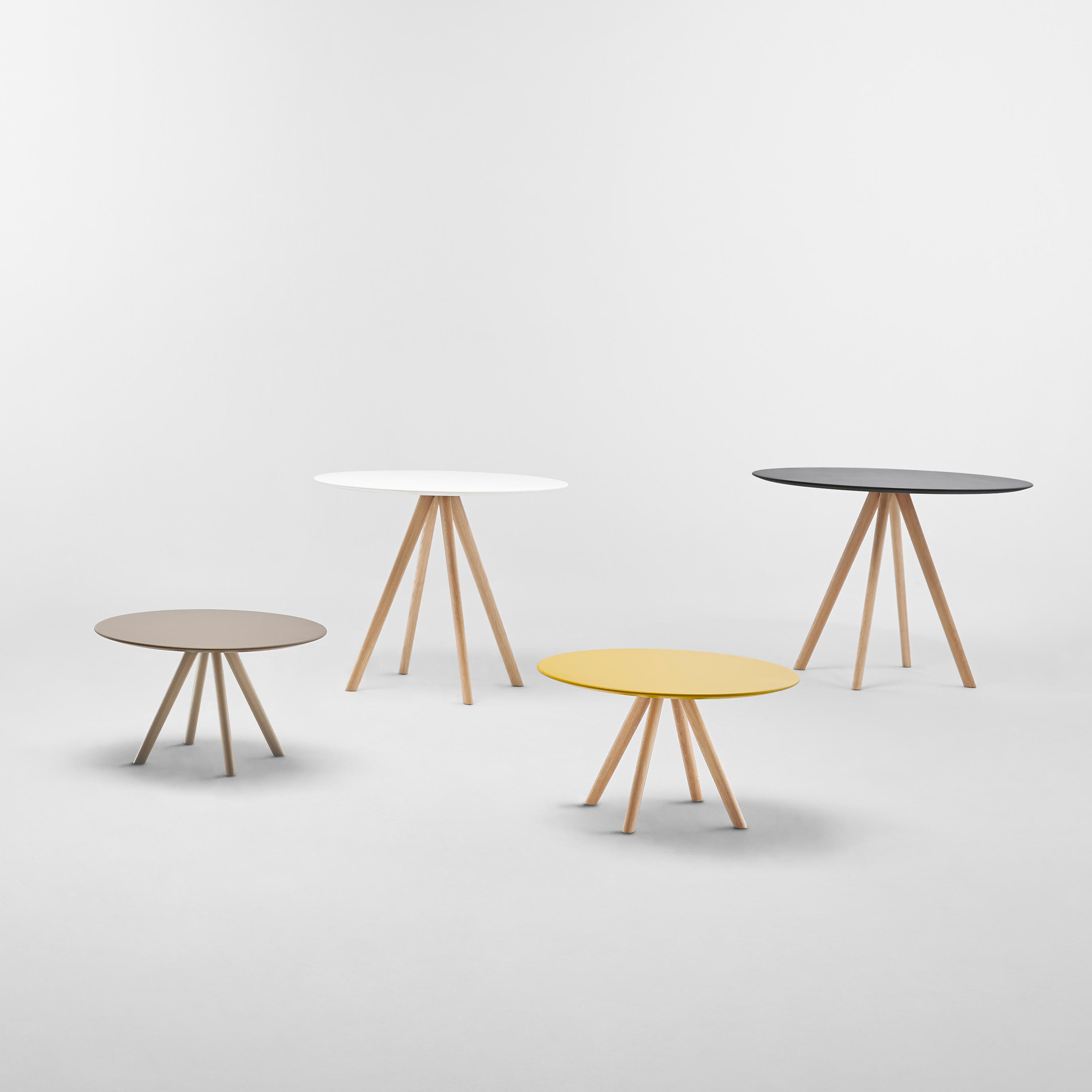 Stiks Tables by Christophe Pillet for Inclass