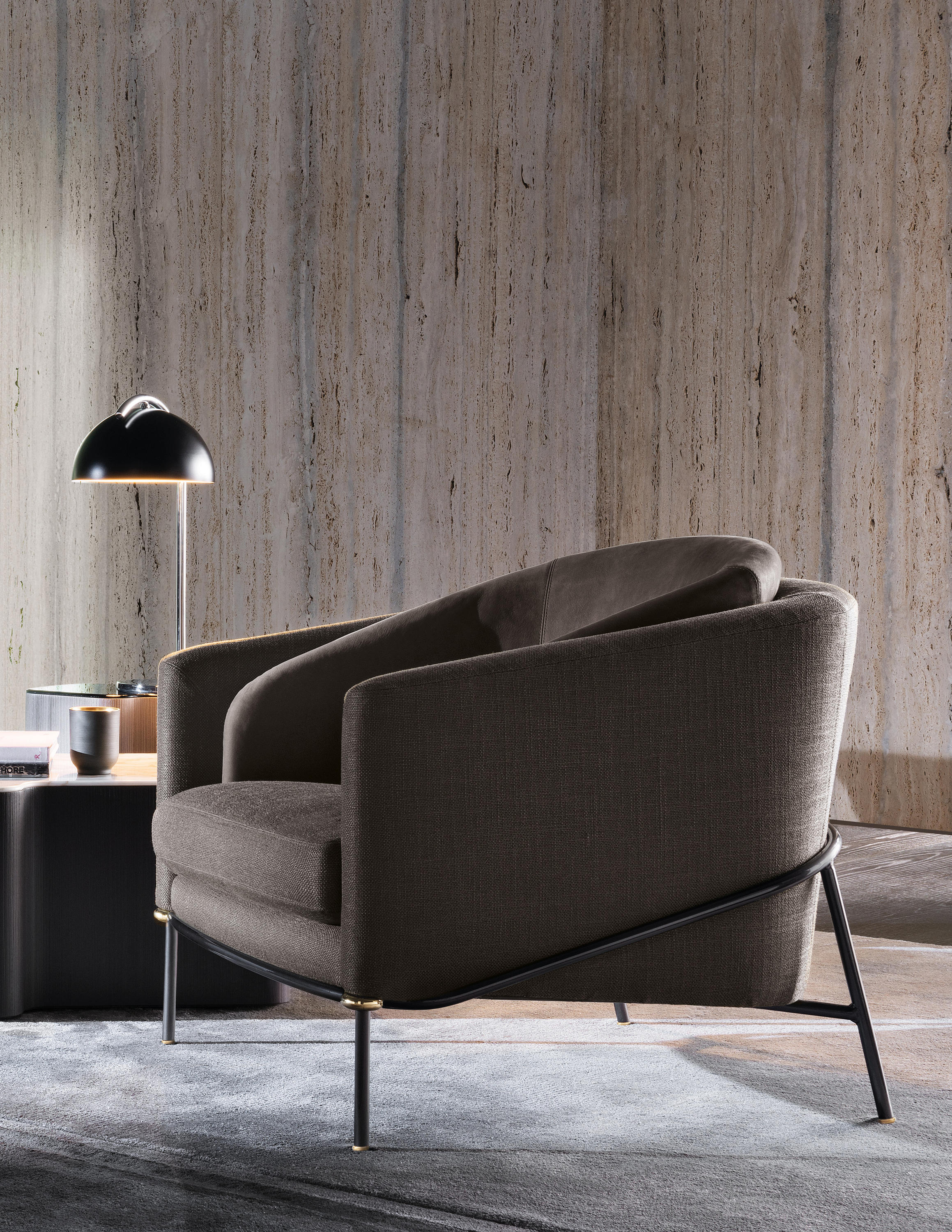 Fil Noir Chair Collection By Christophe Delcourt For Minotti