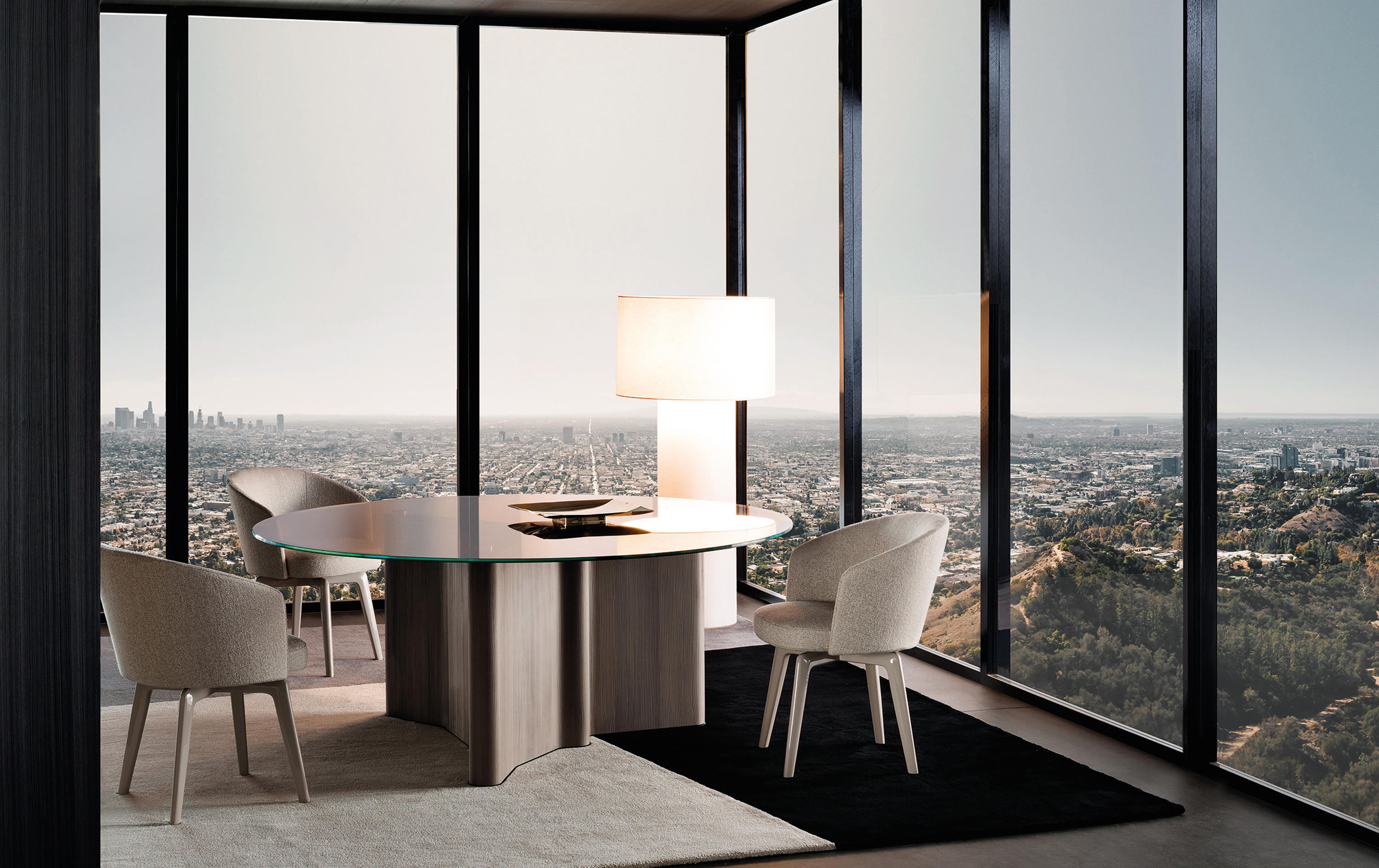 Lou Table by Christophe Delcourt for Minotti