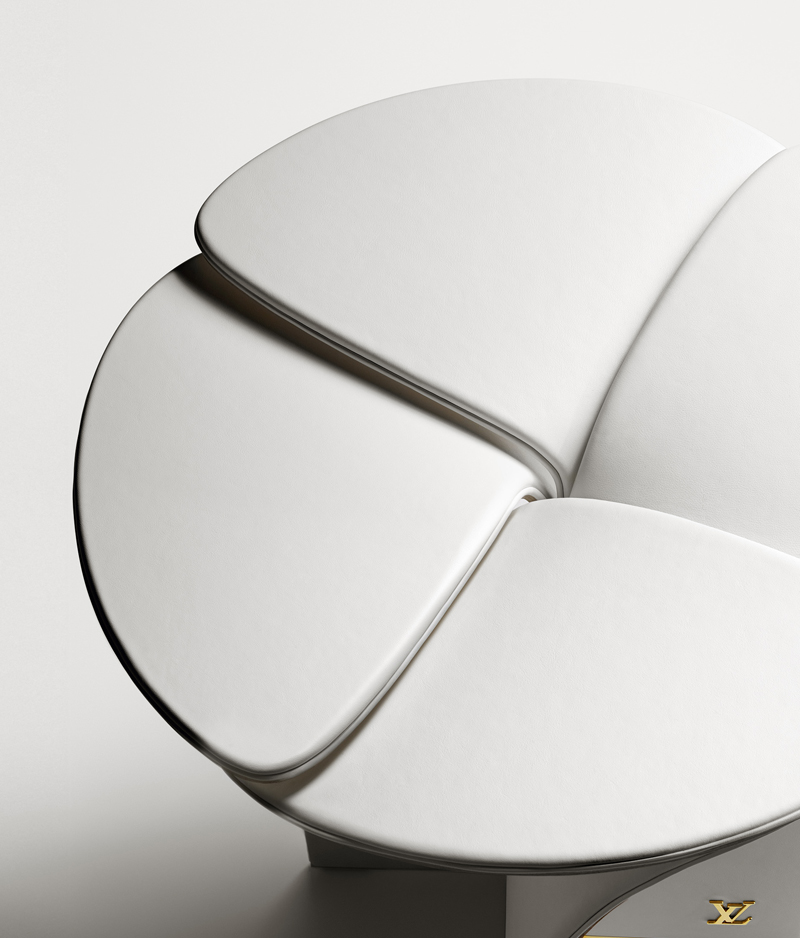 Blossom Stool by Tokujin Yoshioka for Louis Vuitton