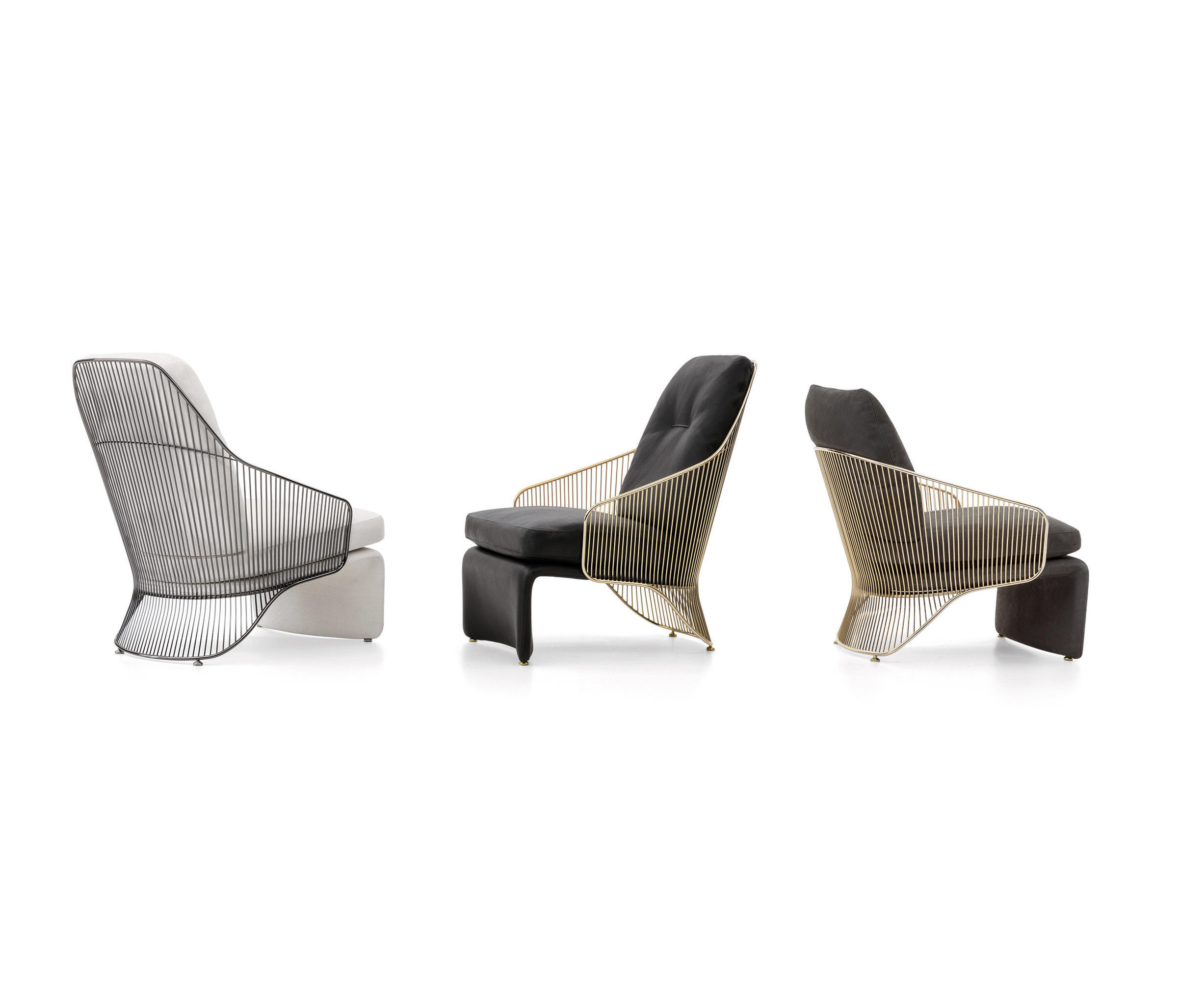 Colette Armchairs by Minotti