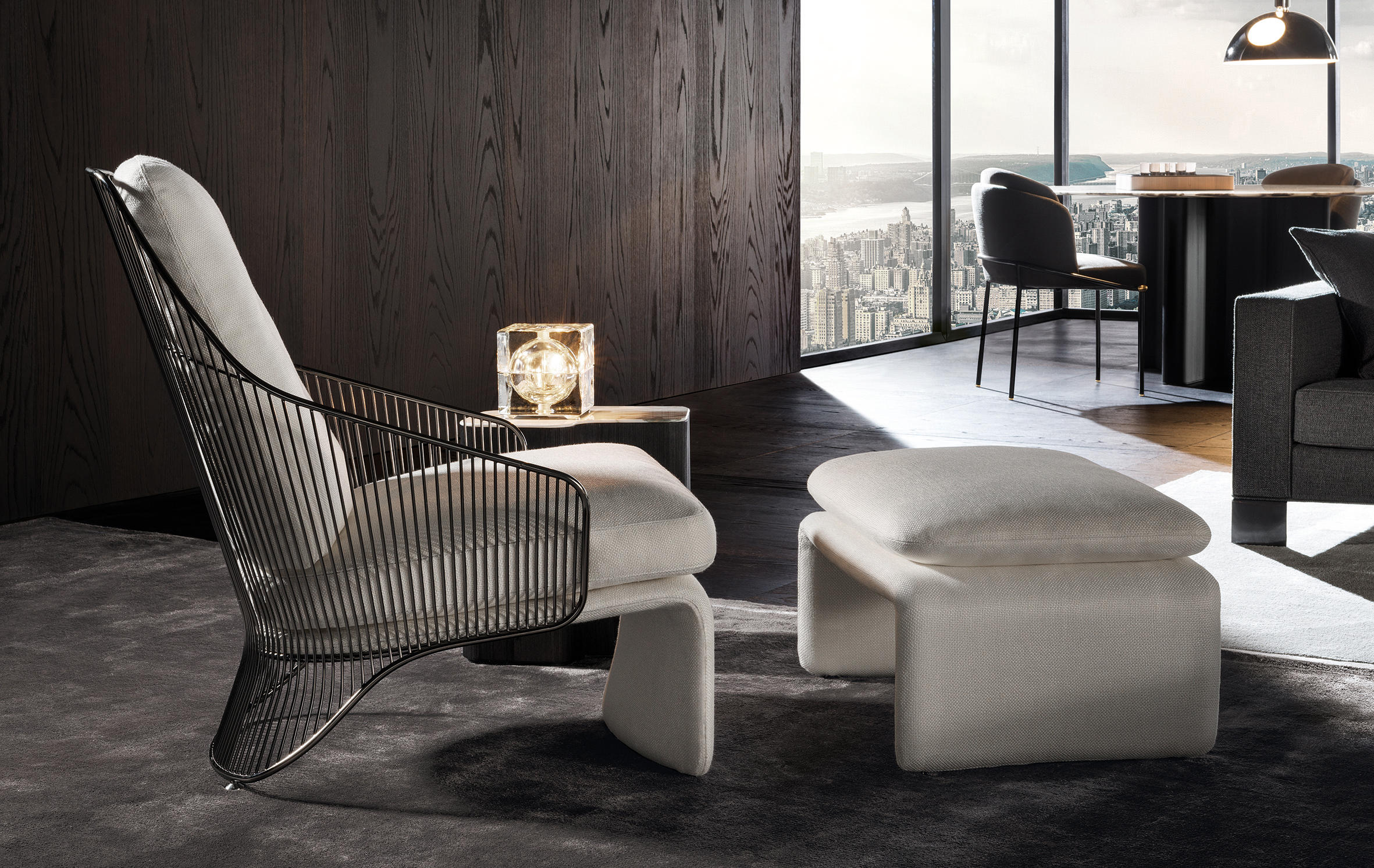 Colette Armchair by Minotti