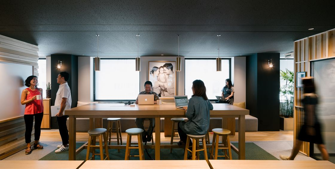 Airbnb Office in Tokyo, Japan by Suppose Design Office