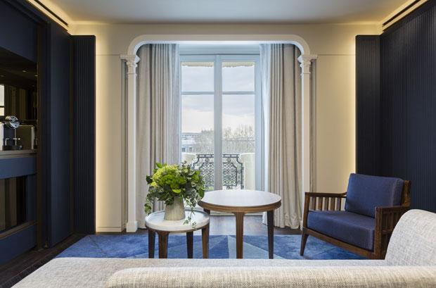 Hotel Lutetia in Paris by Jean-Michel Wilmotte