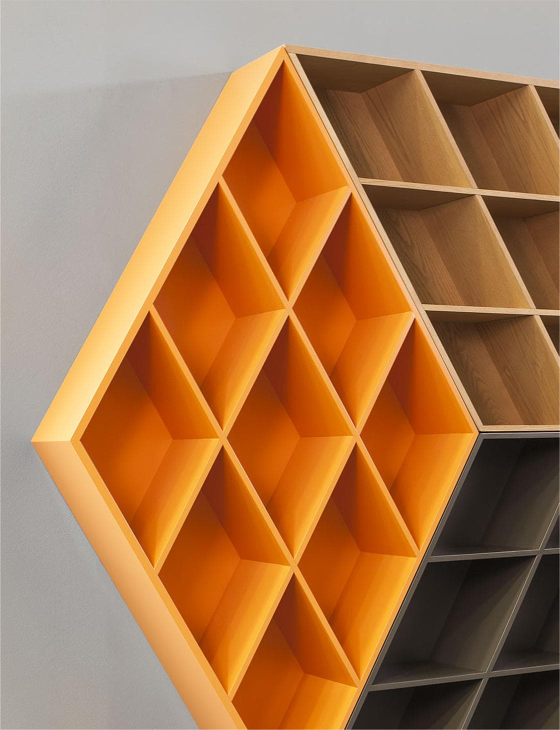 Rubika Bookcase by George Bosnas