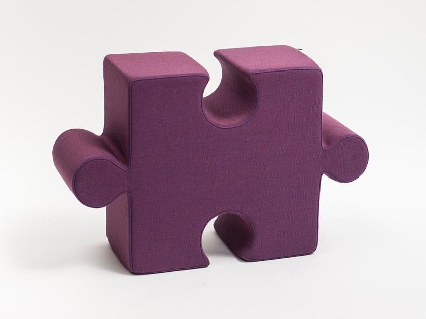 BuzziPuzzle Pouf by BuzziSpace