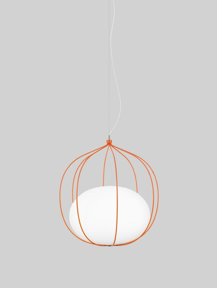 Hoop lamp by Front