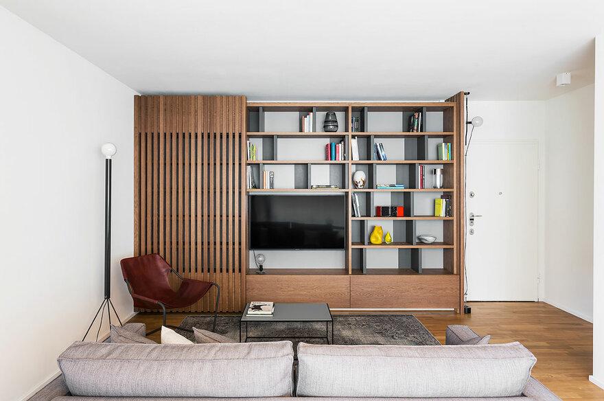 Apartment CV by Nomade Architettura Interior Design in Milan, Italy