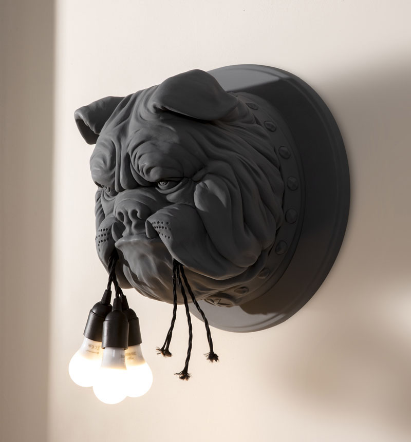"""Fun and Quirky Wall Lamp """"Amsterdam"""" Designed by Matteo Ugolini"""