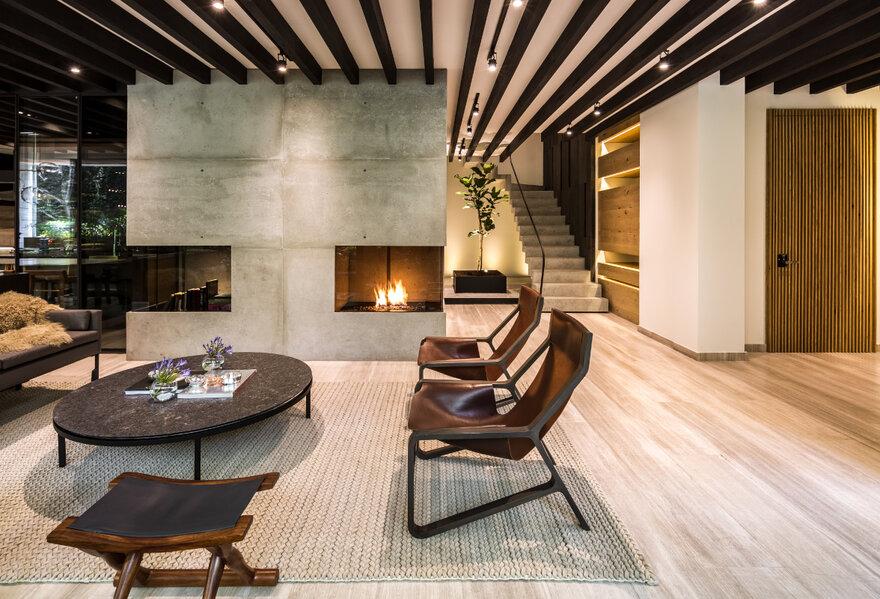 Ahuehuetes Norte Apartment by Taller David Dana in Naucalpan de Juárez, Estado de México, México