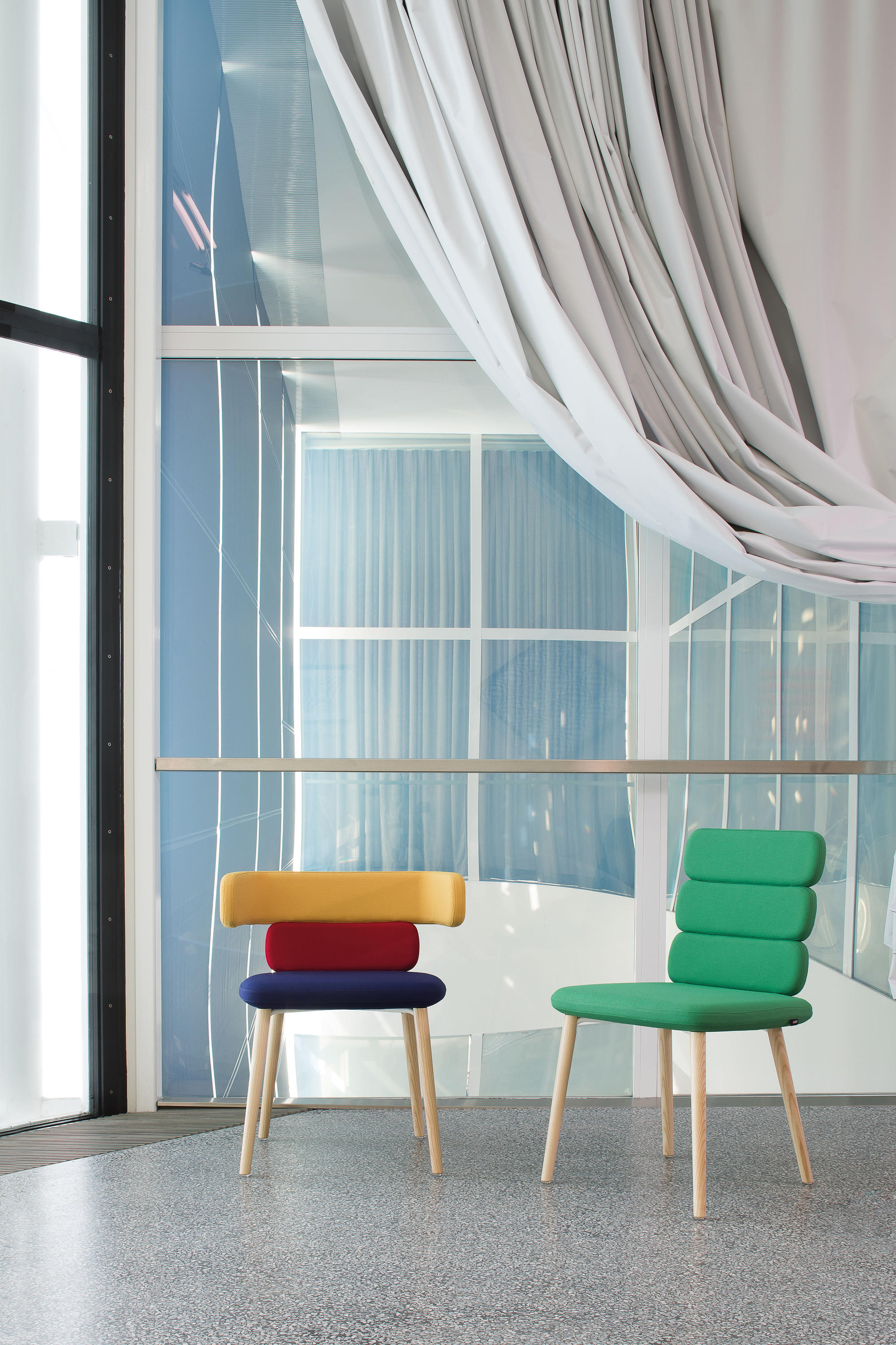 Cluster Chairs by Luigi Vittorio Cittadini for Luxy