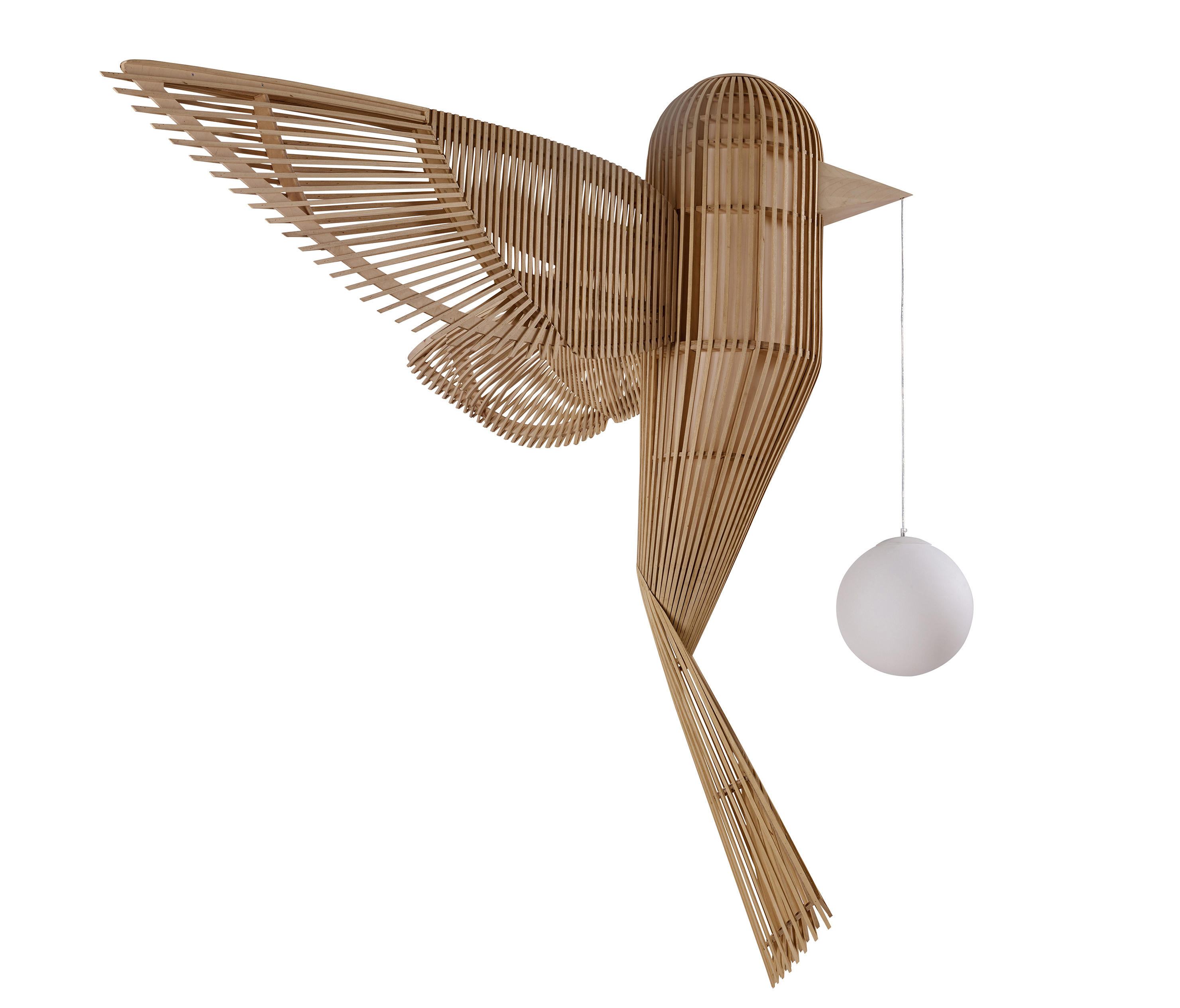 Big Bird Lamp by Isidro Ferrer for LZF