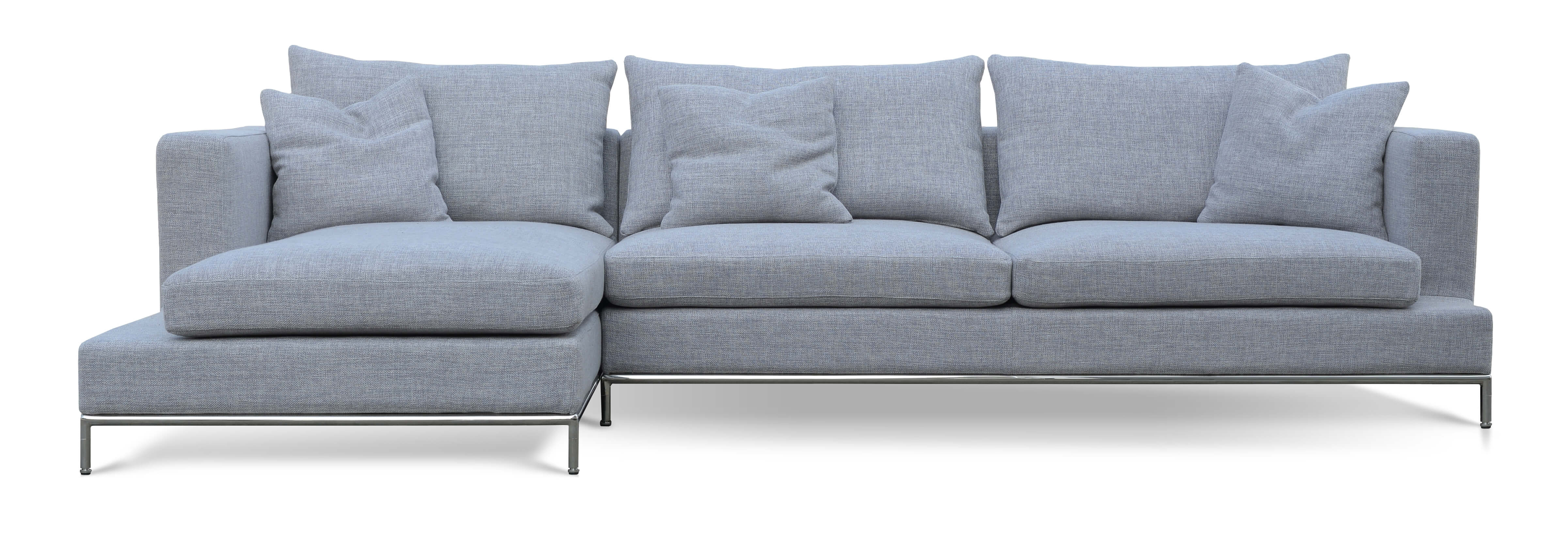 simena sectional left arm chaise grey tweed buy online at best  - simena sectional left arm chaise grey tweed buy online at best price sohomod