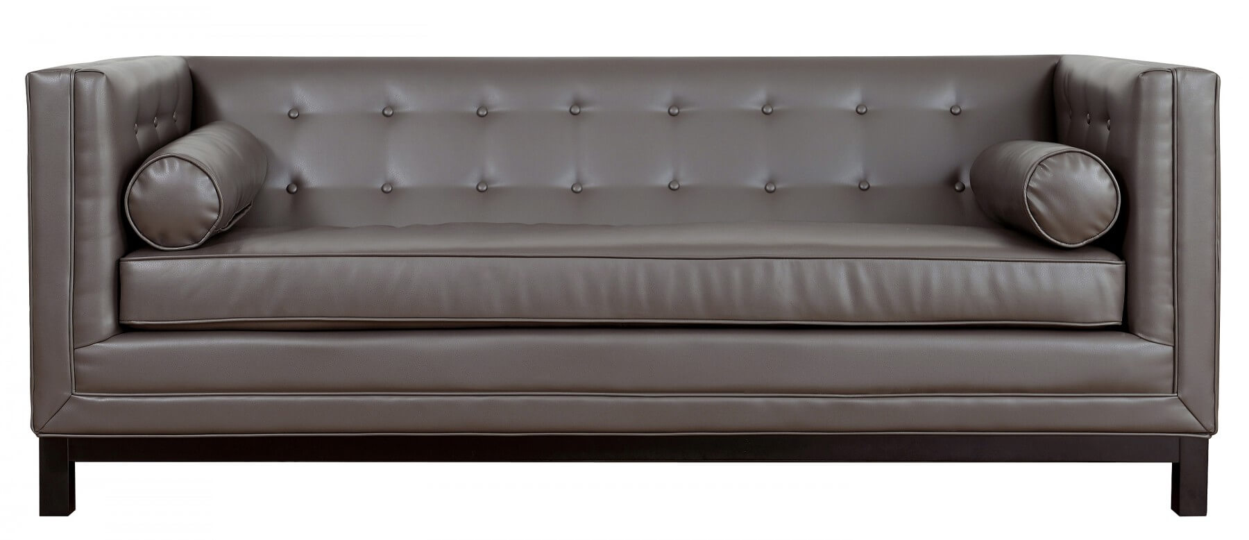 Captivating Zoe Leather Sofa By TOV Furniture Buy Online At Best Price   SohoMod