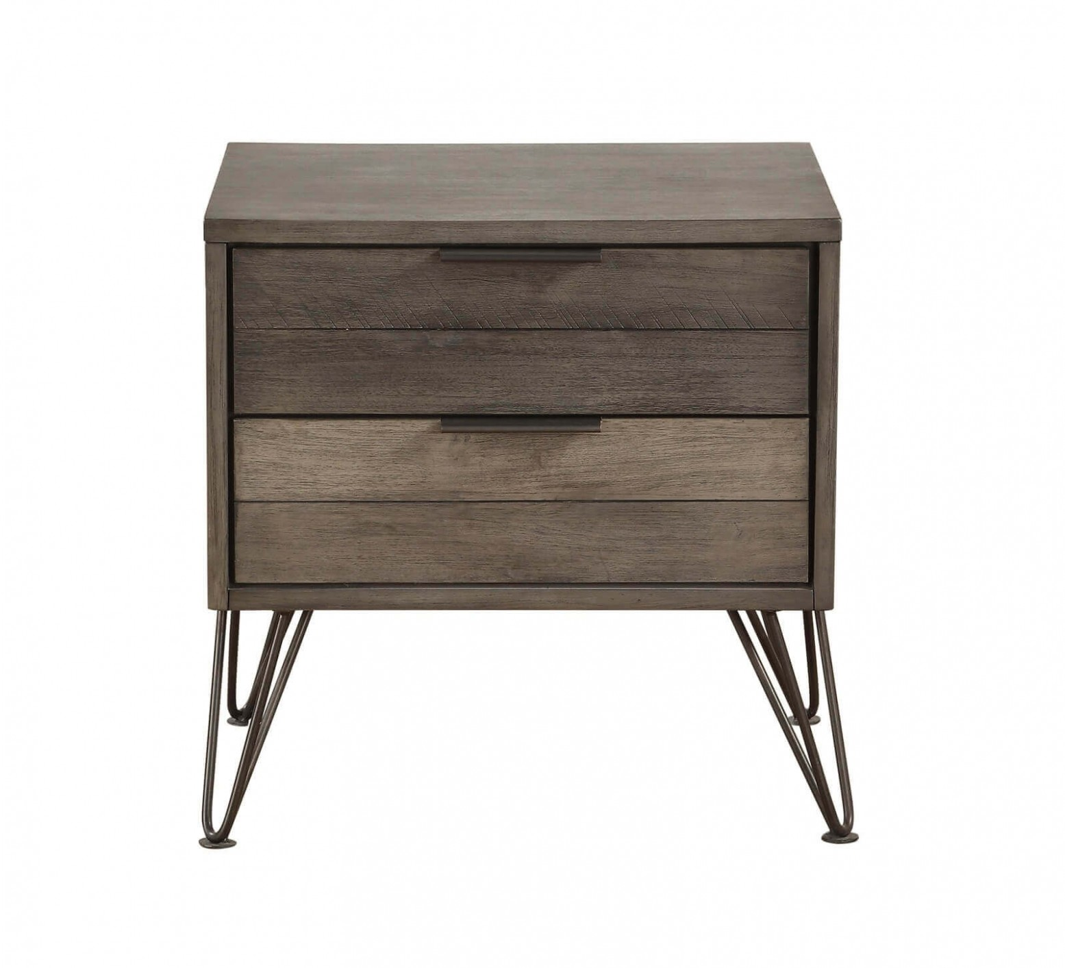 Urbanite Wood Wood Veneer Nightstand