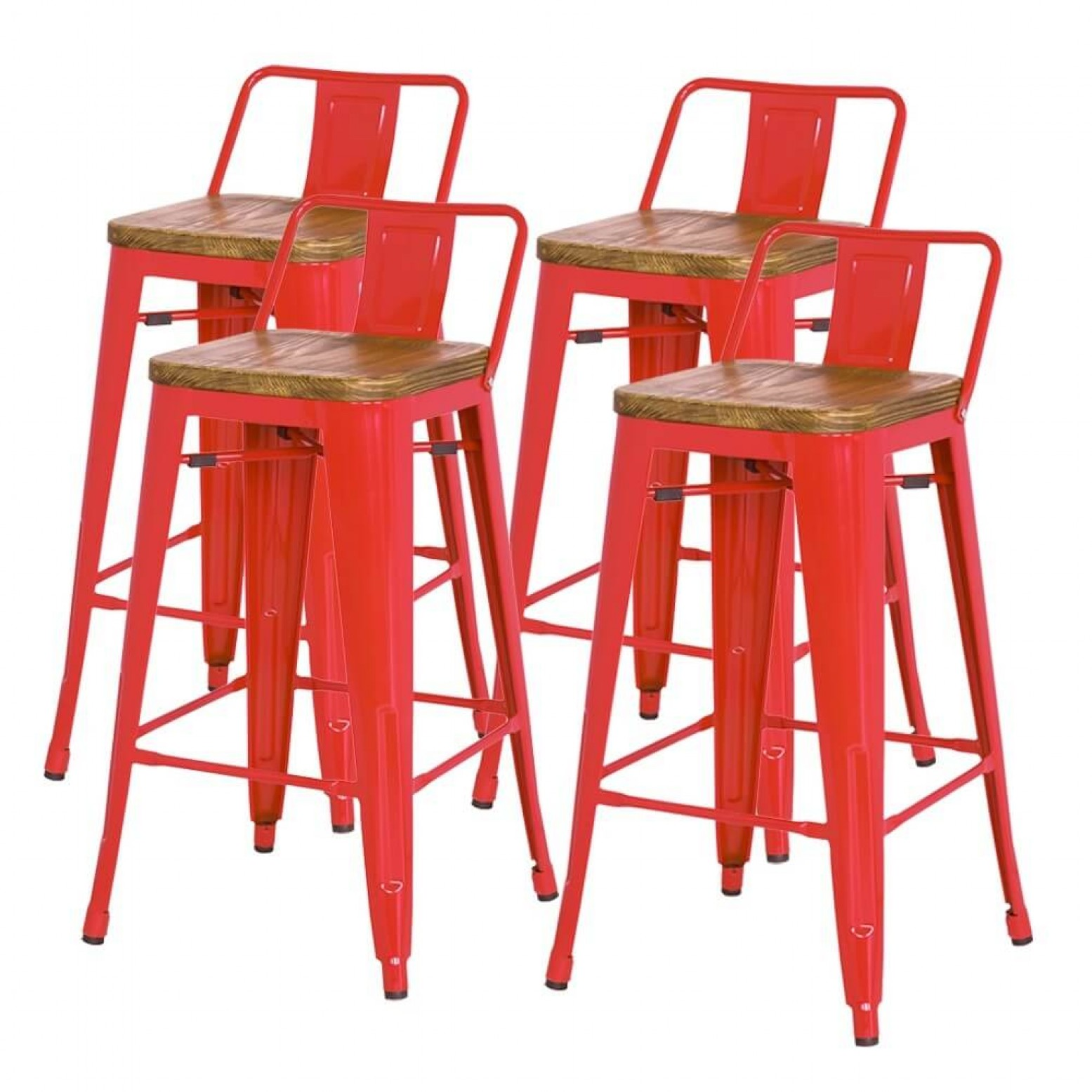 Metropolis Low Back Counter Stool Wood Seat By Npd New Pacific Direct Furniture Sohomod Com