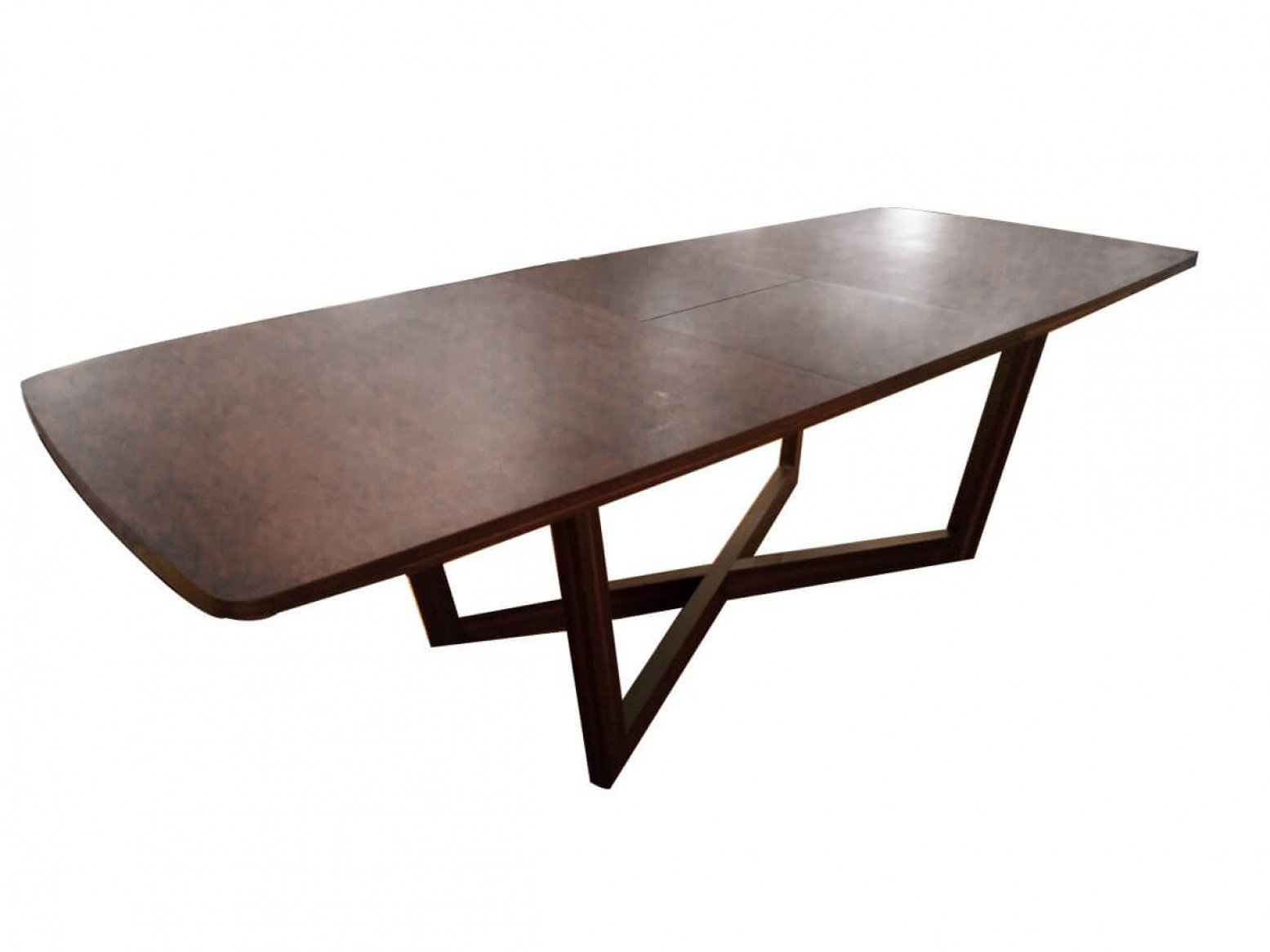 Ac846 Expandable Dining Table Walnut By Beverly Hills Furniture Sohomod Com