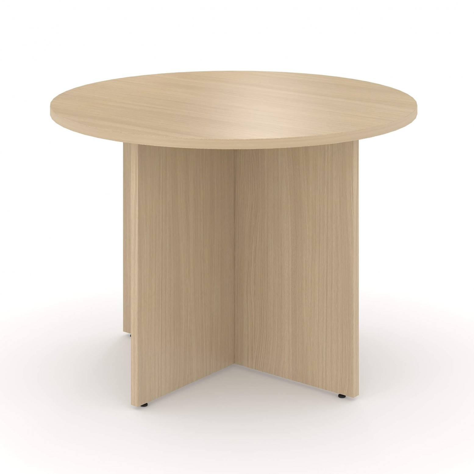 Optima Small Round Meeting Table For 4 Persons Sohomod Com