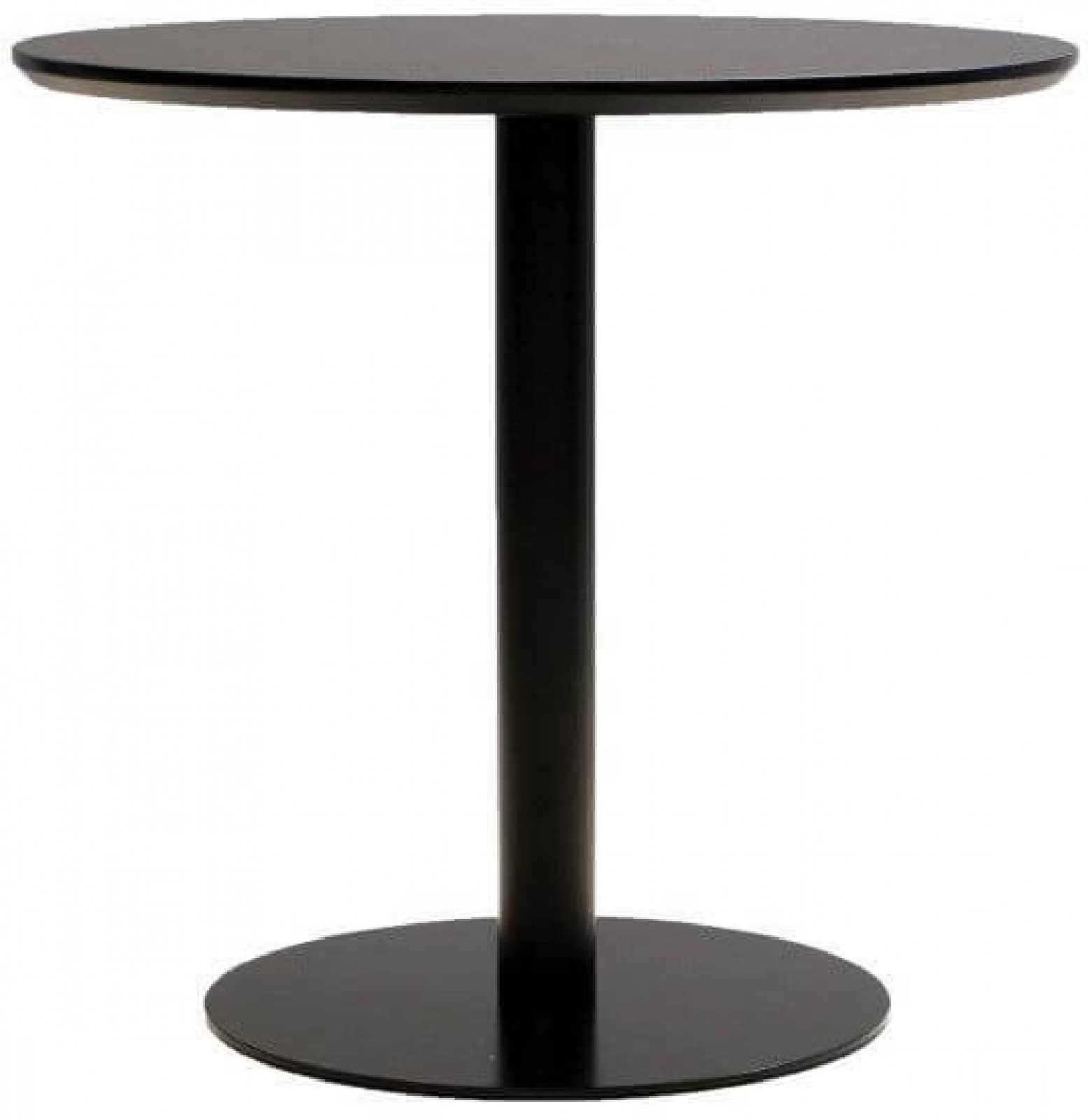 Half Pint Round Dining Table Black By Mobital Sohomod Com