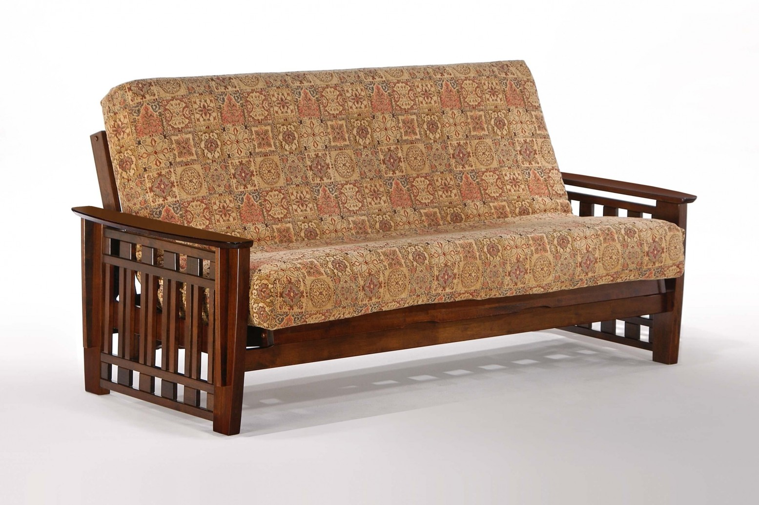 Wood Futon Bed Queen Size