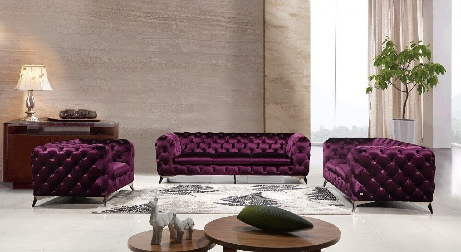 Brilliant Glitz Velour Fabric Sofa Set Camellatalisay Diy Chair Ideas Camellatalisaycom