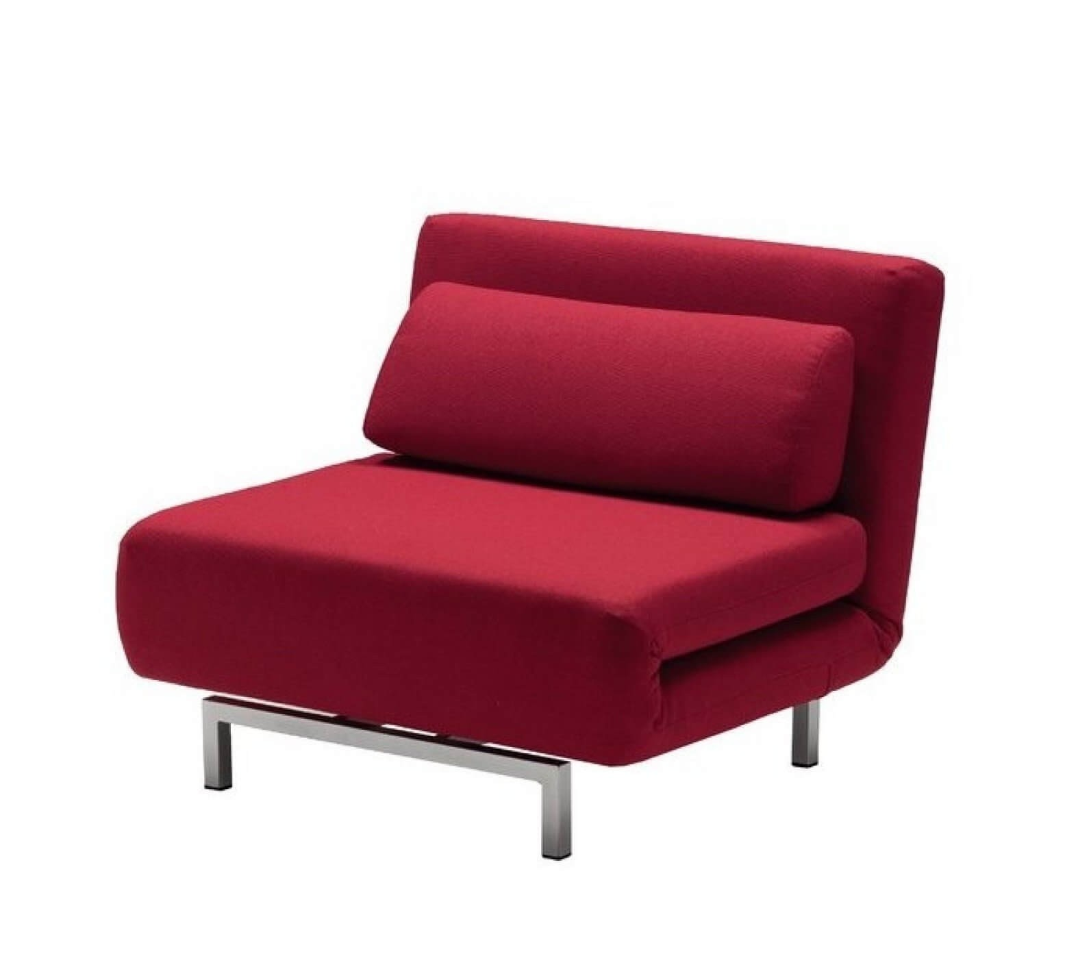 Lk06 1 Premium Chair Bed Red By J M Furniture Sohomod Com