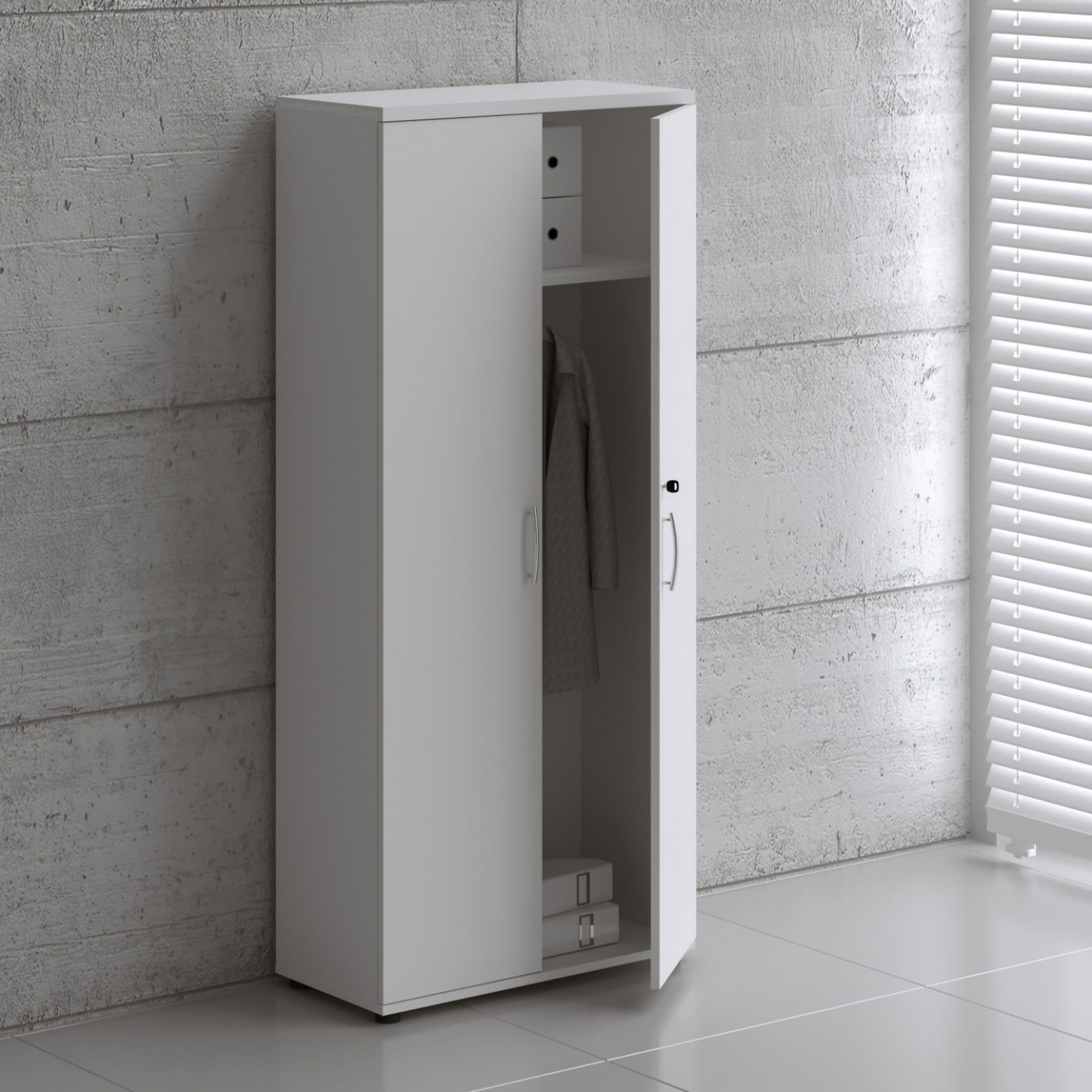 Basic 5oh Tall Office Storage Cabinet By Mdd Office Furniture Sohomod Com