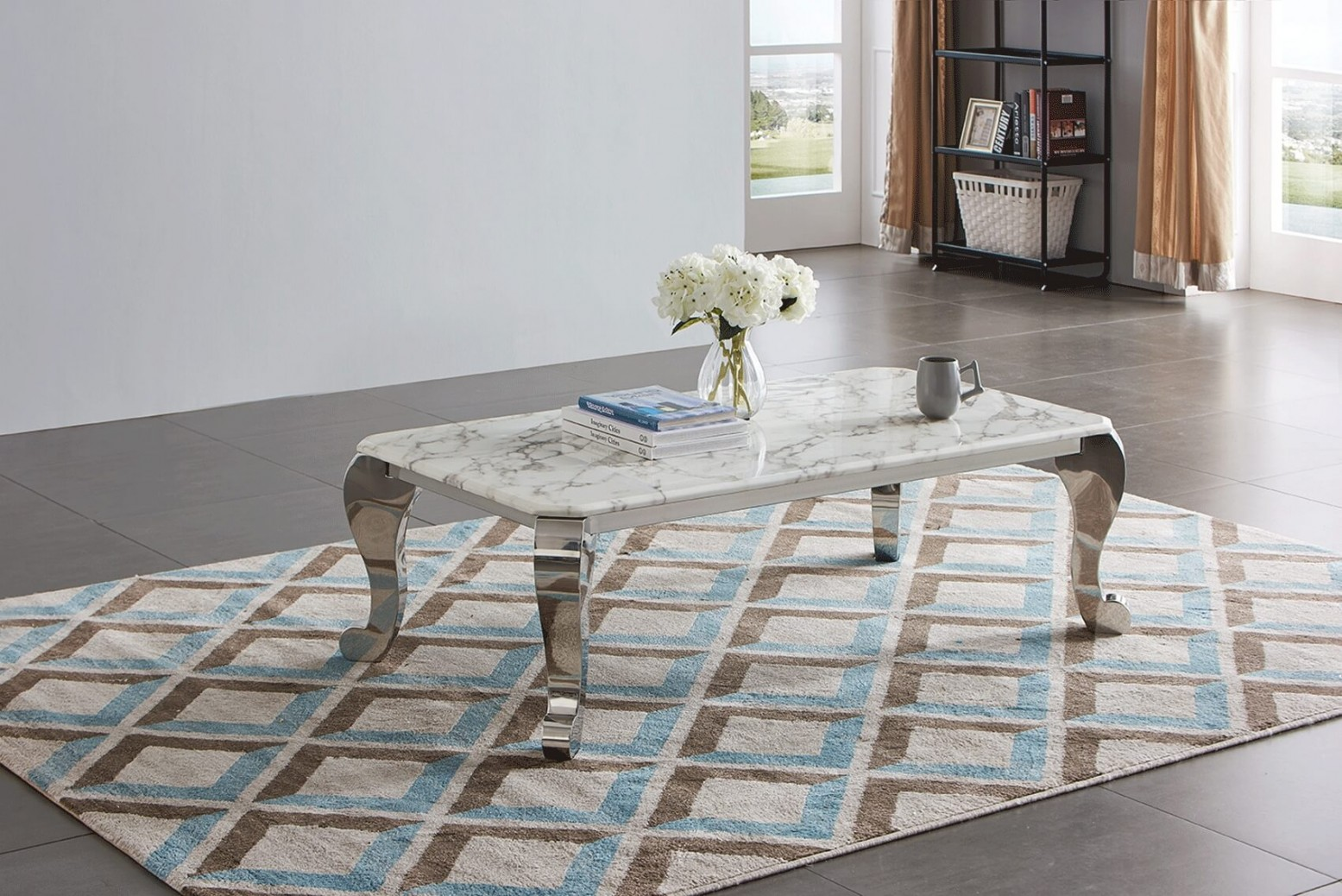 Cf110 Marble Coffee Table