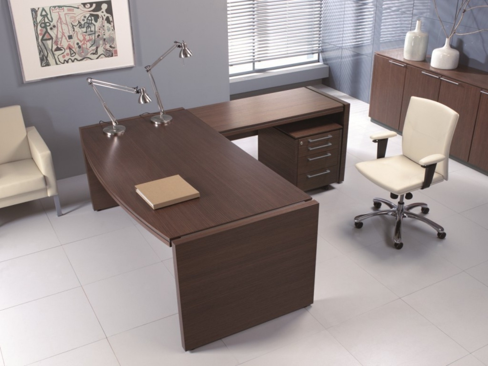 Executive Desk By Mdd Office Furniture