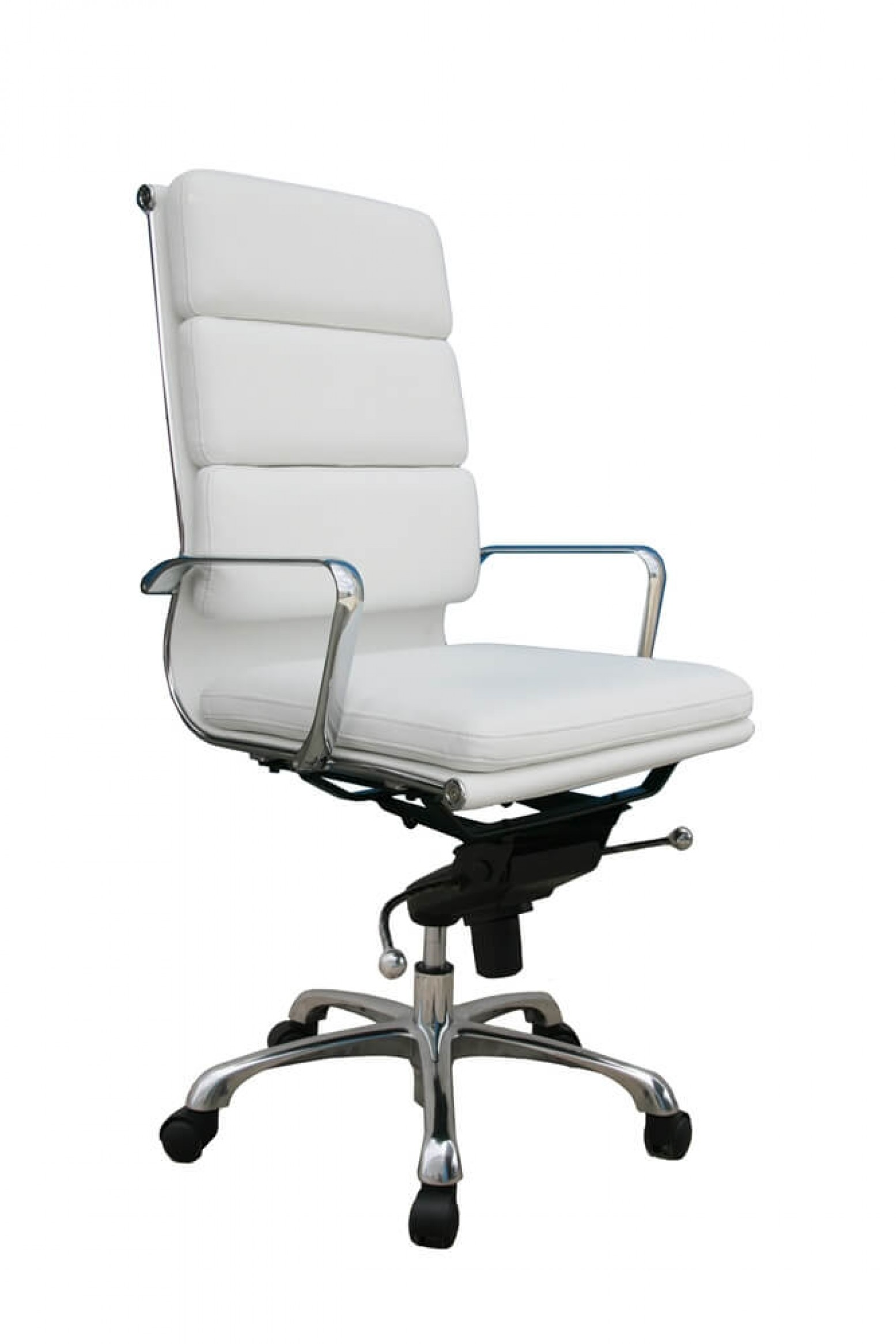 Plush High Back Adjustable Swivel Office Chair By J Amp M