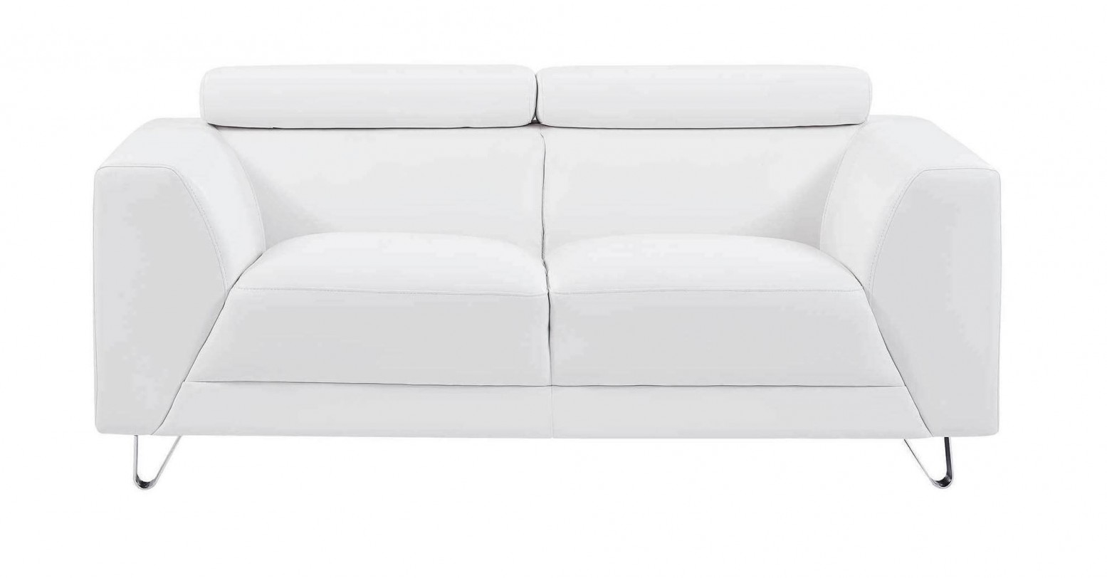 Picture of: U8210 Loveseat Pluto White By Global Furniture Usa Sohomod Com