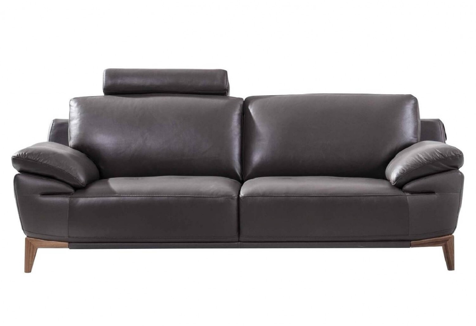 S93 Top Grain Leather Sofa By Beverly