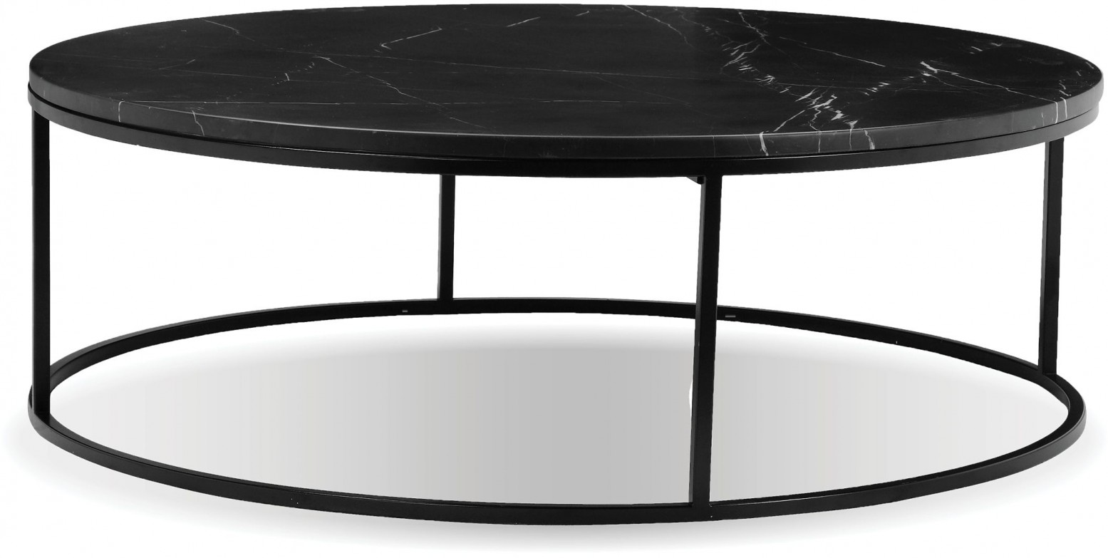Onix Round Marble Coffee Table