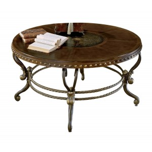 Copeland Wood Coffee Table by Homelegance