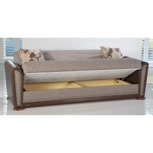 Alfa Sofa Redeyef Brown by Sunset (Istikbal) Furniture