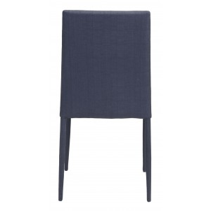 Confidence Dining Chair, Black by Zuo Modern