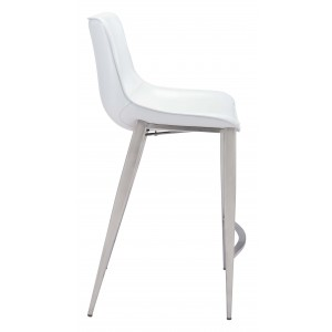 Magnus Counter Chair by Zuo Modern
