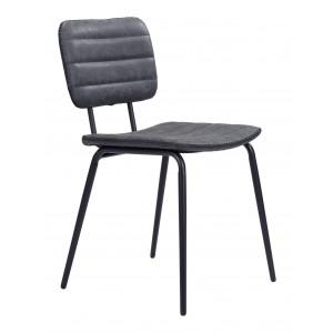 Boston Chair, Gray by Zuo Modern