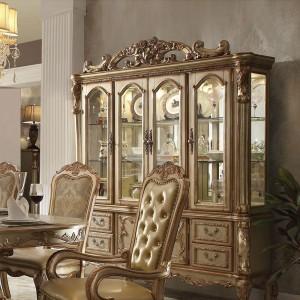 Dresden Wood/Wood Veneer China Cabinet by ACME