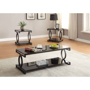 Milo Occasional Table Set (Coffee Table + 2 End Tables) by Acme Furniture