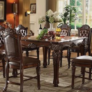 Vendome Wood/WoodVeneer Counter Table by ACME