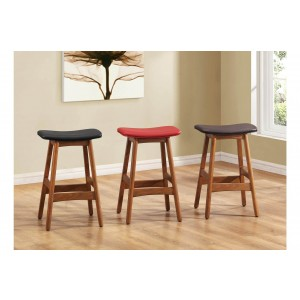 1188 Transitional PU Counter Height Stool by Homelegance