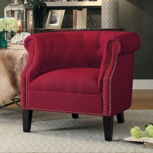 Karlock Fabric Accent Chair by Homelegance