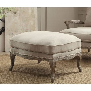 Parlier Fabric Ottoman by Homelegance