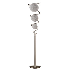 Diya Metal Floor Lamp by Homelegance
